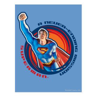 Superman Vykort