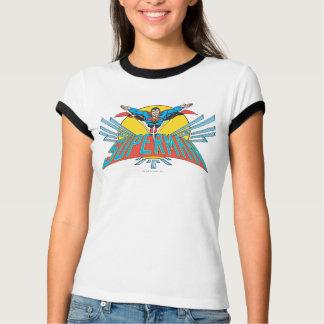 Stålman med brev tee shirts