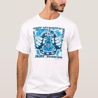 Stålmannen formulerar Collage Tee Shirt
