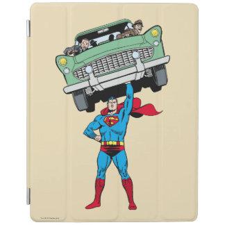 Stålmannen rymmer en bil iPad skydd