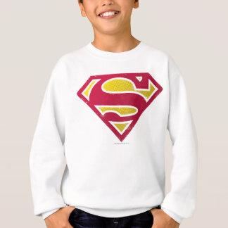 Stålmannen S-Skyddar bedrövad | pricker logotypen T Shirt