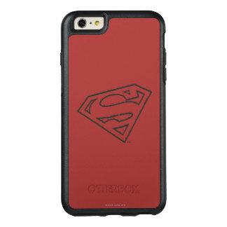 Stålmannen S-Skyddar den | Grungelogotypen åt OtterBox iPhone 6/6s Plus Skal