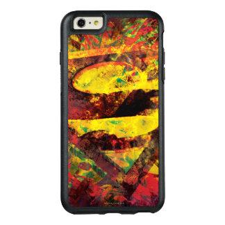 Stålmannen S-Skyddar den | Grungelogotypen OtterBox iPhone 6/6s Plus Skal