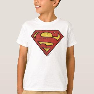 Stålmannen S-Skyddar den | Grungelogotypen T-shirt