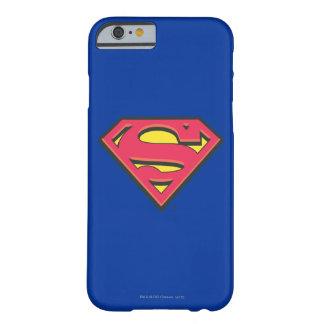Stålmannen S-Skyddar den | klassikerlogotypen Barely There iPhone 6 Skal