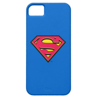 Stålmannen S-Skyddar den | klassikerlogotypen iPhone 5 Fodral