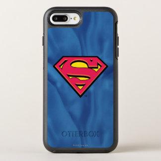 Stålmannen S-Skyddar den | klassikerlogotypen OtterBox Symmetry iPhone 7 Plus Skal
