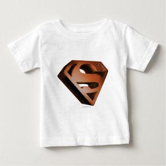 Stålmannen S-Skyddar | den korniga logotypen 3D Tshirts