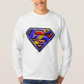 Stålmannen S-Skyddar | den purpurfärgade T-shirt