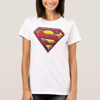 Stålmannen S-Skyddar den | skrapalogotypen T-shirts