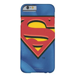 Stålmannen S-Skyddar den | stålmanlogotypen Barely There iPhone 6 Fodral