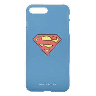 Stålmannen S-Skyddar den | stålmanlogotypen iPhone 7 Plus Skal