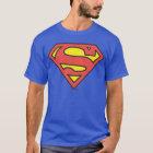 Stålmannen S-Skyddar den   stålmanlogotypen Tee Shirt