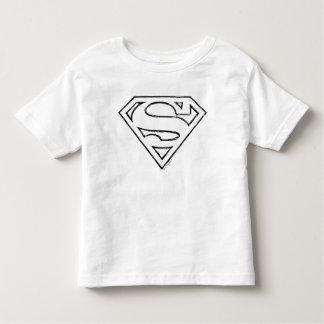 Stålmannen S-Skyddar | som den enkla svarten Tshirts