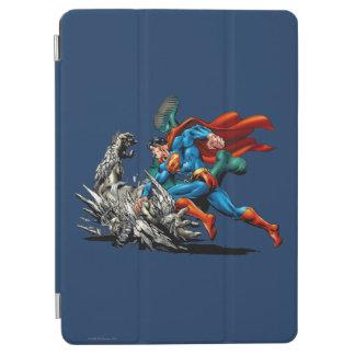 Stålmannen slåss monster iPad air skydd