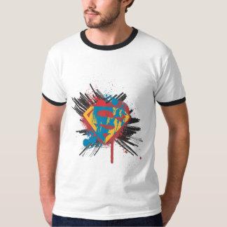 Stålmannen Stylized den | Splatterlogotypen T Shirt