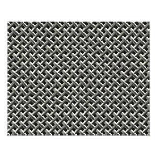 Stålsätta metall kopplar ihop mönster (fauxen) fototryck