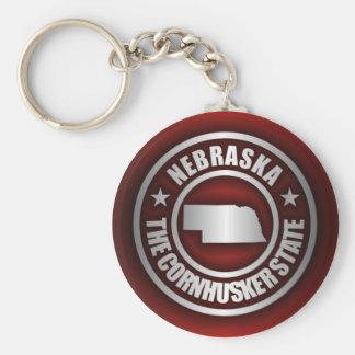 """""""Stålsätter Nebraska 2"""" Keychains Rund Nyckelring"""
