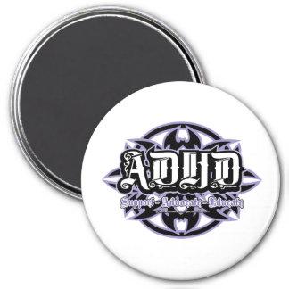Stam- ADHD Magnet Rund 7.6 Cm