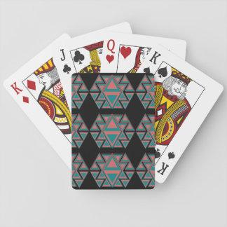 Stam- Aztec mönsterklassiker som leker kort Casinokort