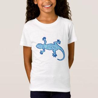 Stam- batikGecko - mjuk denimblått Tröja