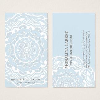 Stam- bohemiska blått för Mandalateckningshabby Visitkort