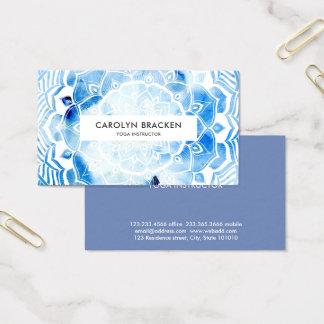 Stam- bohemiska blått för visitkort