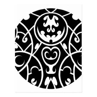 stam- cirkla konst vykort