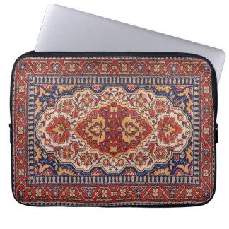 Stam- geometrisk mattadesign laptop sleeve
