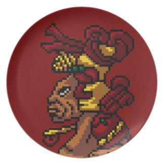 Stam- gud för Maya av MasculinityhuvudPIXELet Tallrik