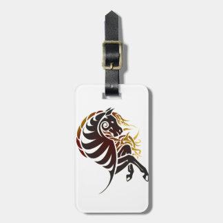 Stam- häst bagagebricka