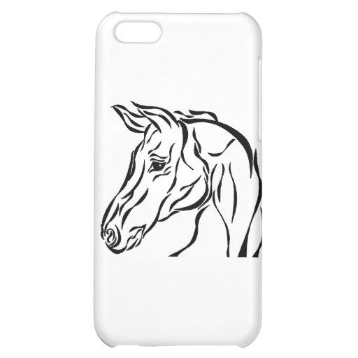Stam- häst iPhone 5C mobil skydd