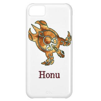Stam- hawaiansk guld- havssköldpadda på vit iPhone 5C fodral