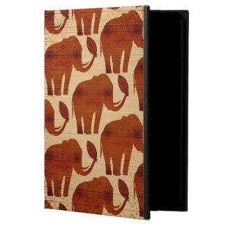 Stam- konstdesign för elefant iPad air fodral