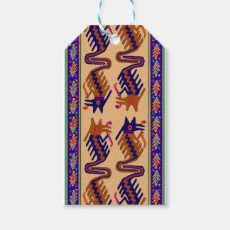Stam- orm för Inca Presentetikett