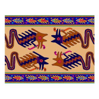 Stam- orm för Inca Vykort