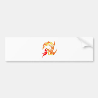 Stam- Phoenix avfyrar på Bildekal