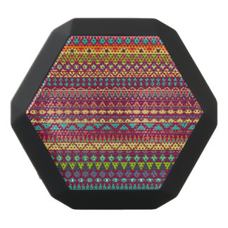 Stam- randig abstrakt mönsterdesign svart bluetooth högtalare