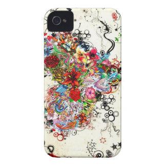 Stam- rytm iPhone 4 Case-Mate skydd