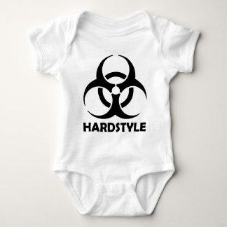 stam- svart hardstyle t-shirt