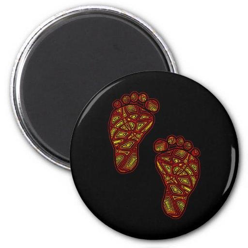 Stam- Toes Magnet Rund 5.7 Cm