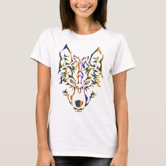 Stam- varghuvud för regnbåge (som framåtriktat tee shirts