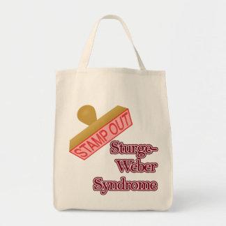 Stämpla ut det Sturge-Weber syndromet Tote Bags