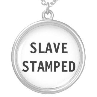 Stämplat slav- för halsband