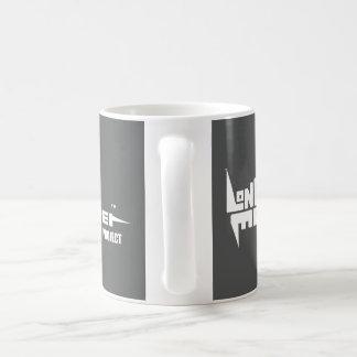 Standard 325 ml mugg med vit på Slate logotypen