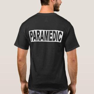 Standard paramedicinsk Skjortasvart T-shirt