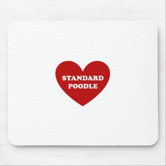 Standard pudel musmatta