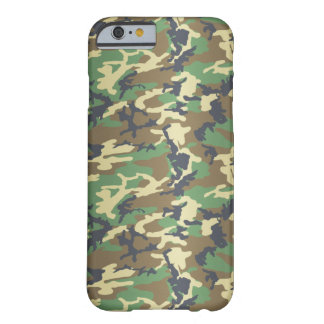 Standard skogsmark Camo Barely There iPhone 6 Fodral