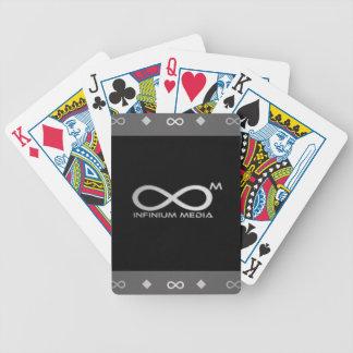Standarda leka kort - cykel spelkort