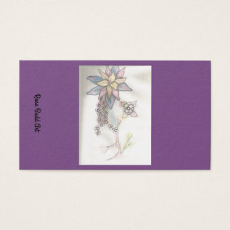 standarda lilor för visitkort